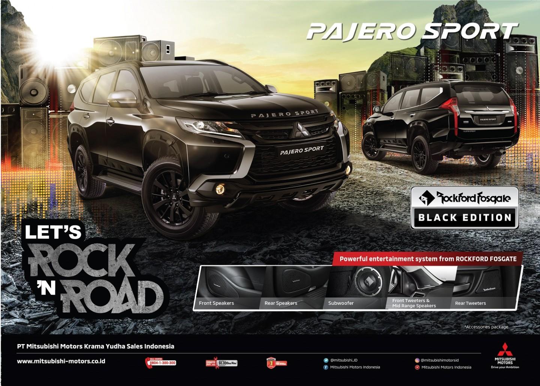 Antusiasme dan Penerimaan Positif Terhadap Edisi Terbatas Mitsubishi Pajero Sport Rockford Fosgate