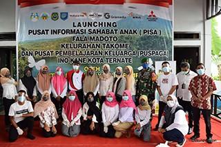 Mitsubishi Motors Menggelar Seremoni Pembukaan untuk Perpustakaan dan Balai Pertemuan Anak di Indonesia