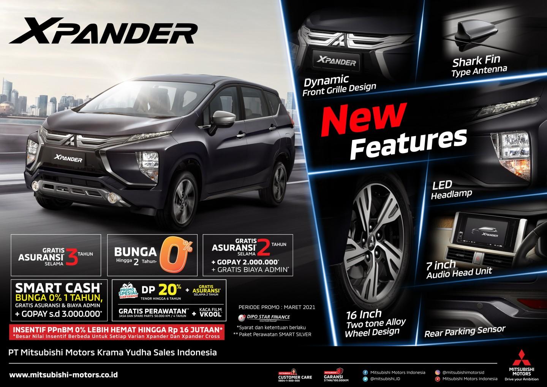 Suguhan Program Penjualan Menarik Mitsubishi Motors Bulan Maret 2021