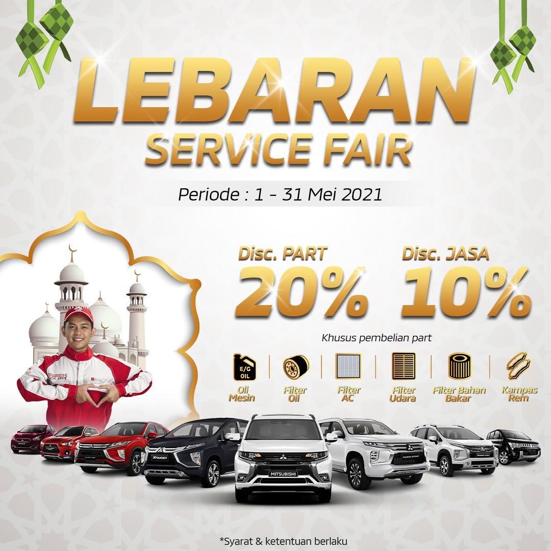 "Sambut Hari Raya Idul FItri di Indonesia, MMKSI Hadirkan ""Lebaran Service Fair 2021"