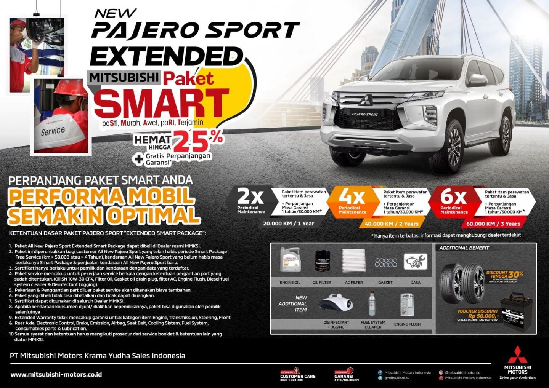 MMKSI Luncurkan Program Perpanjangan Paket SMART untuk Pajero Sport