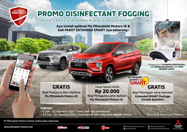 Jaga Kondisi Konsumen dan Kendaraan, MMKSI Berikan Fogging Disinfectant Gratis Melalui Healthy Campaign