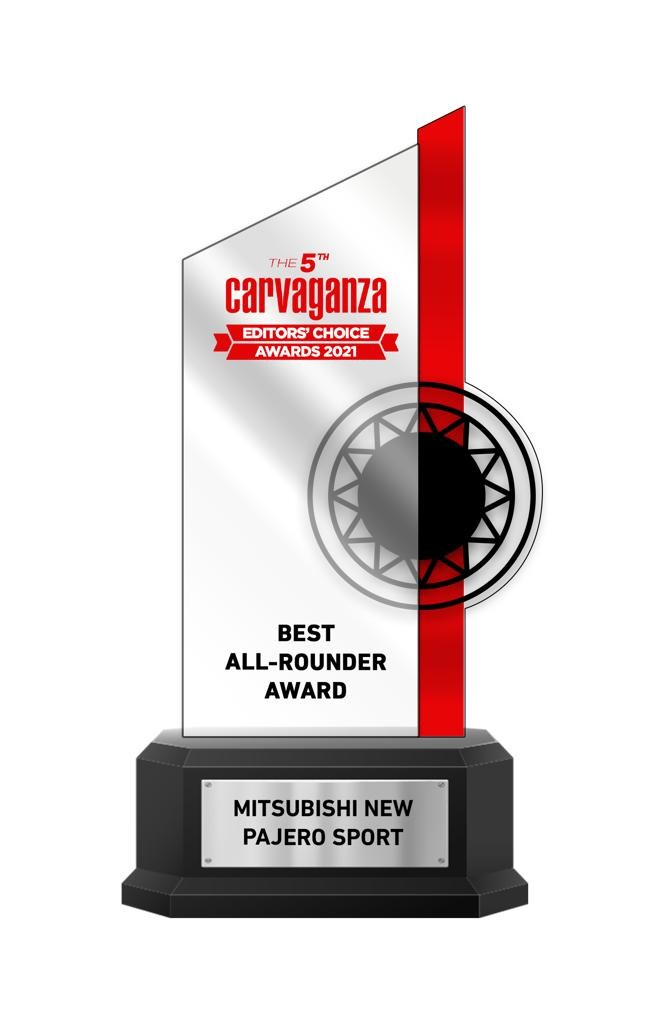 New Pajero Sport Raih Gelar Best All-Rounder Versi Carvaganza Editors Choice Awards 2021