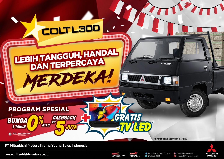 MMKSI Persembahkan Program Penjualan L300 untuk Area Jawa Barat dan Jawa Tengah