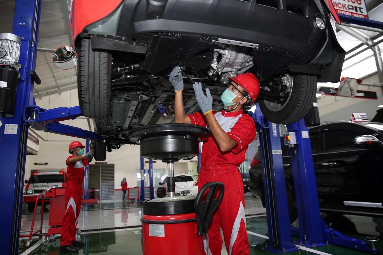 Manfaatkan Layanan Servis Gratis Pertama di Bengkel Resmi Mitsubishi agar Kondisi Kendaraan Prima