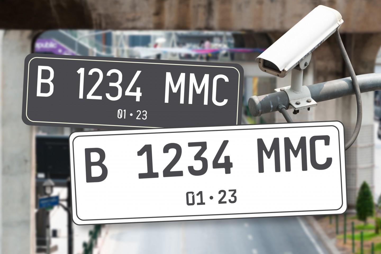 Warna Plat Nomor Mobil Berubah dari Hitam ke Putih, Ini Aturannya