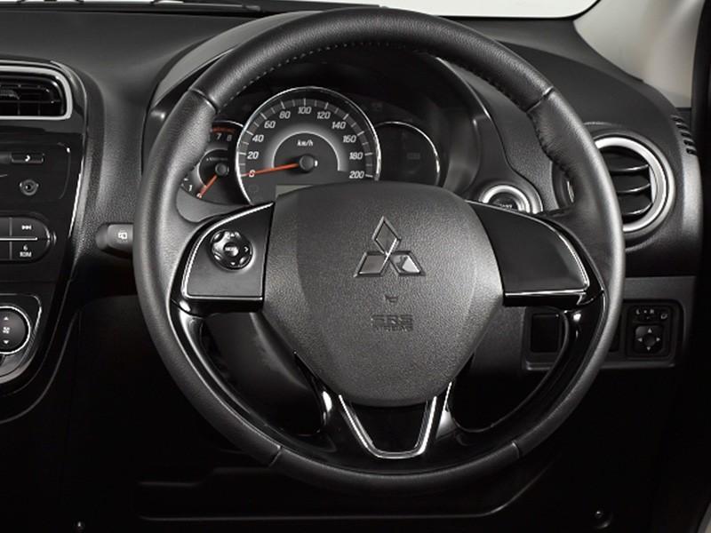 mirage steering wheel design