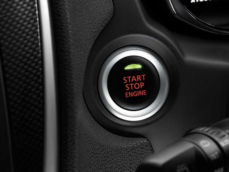 Start stop engine button