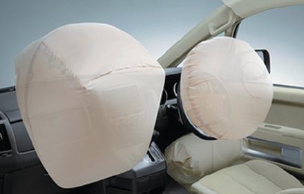 Dual SRS Airbag + Driver Knee Bag