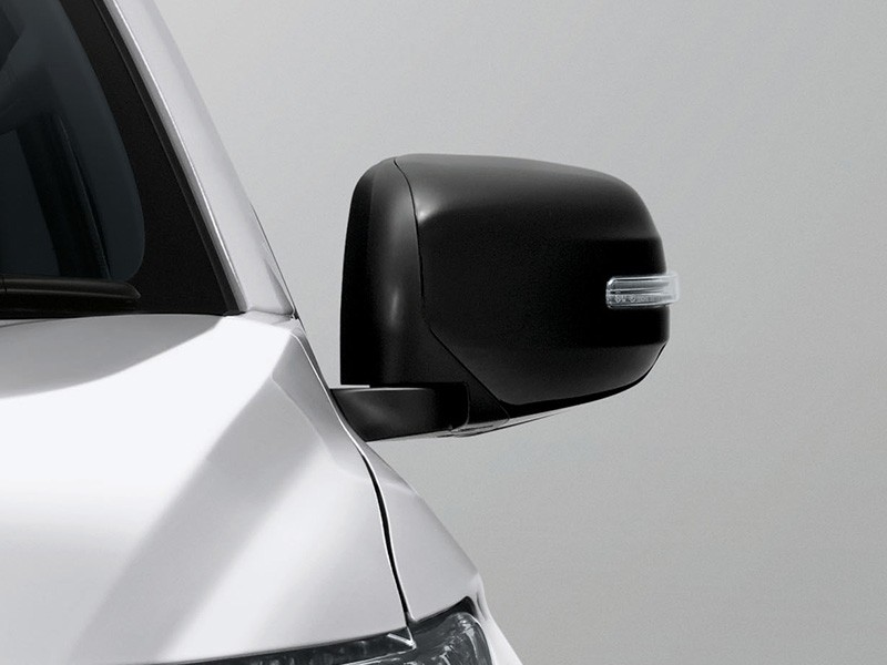 Sporty Black Electric Foolding Door Mirror