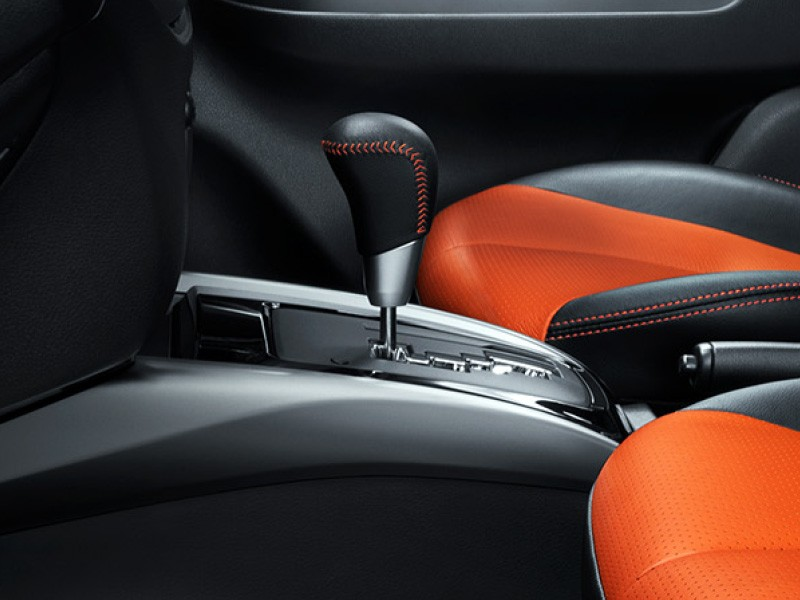 New Orange Accent Interior