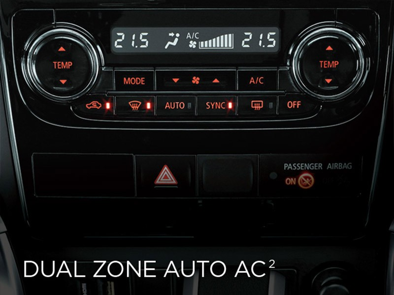 Dual Zone Automatic AC
