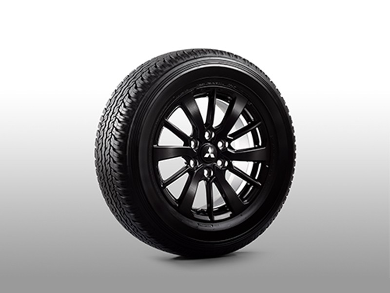 "18"" Black Alloy Wheel"