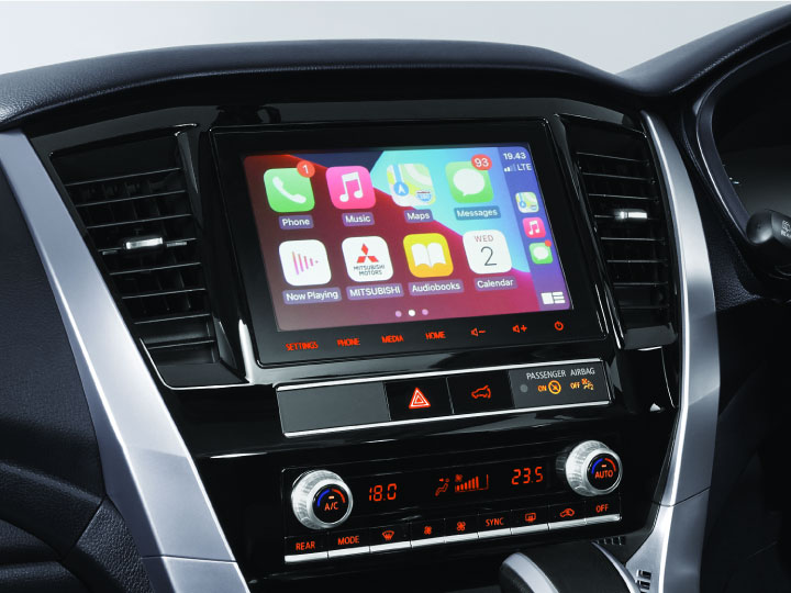 Head Unit with Smartphone-Link Display Audio