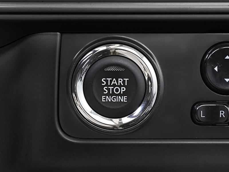 Push Start Stop Engine Button