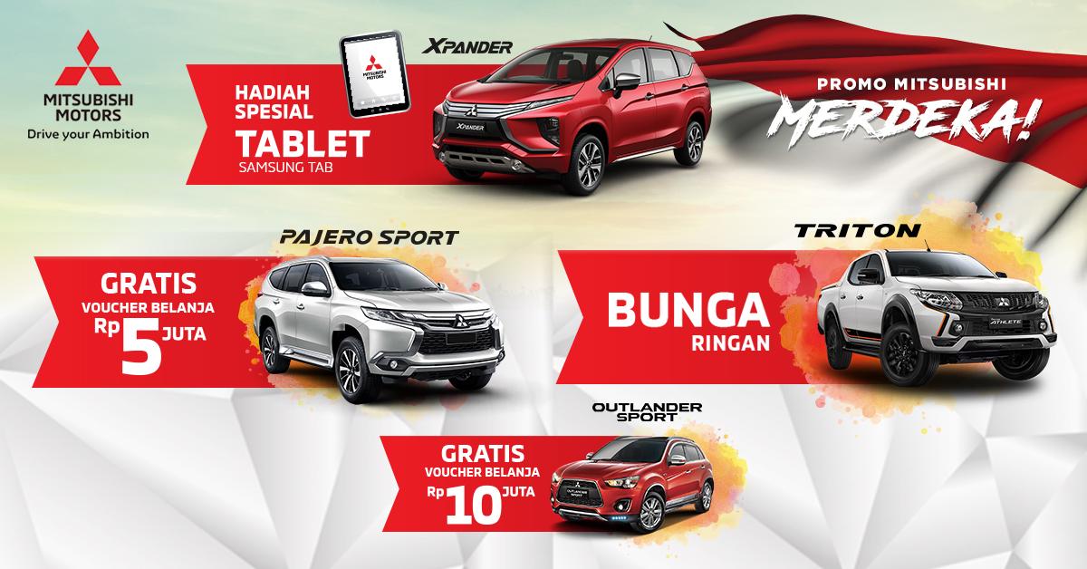 Promo Mitsubishi Motors Agustus 2018