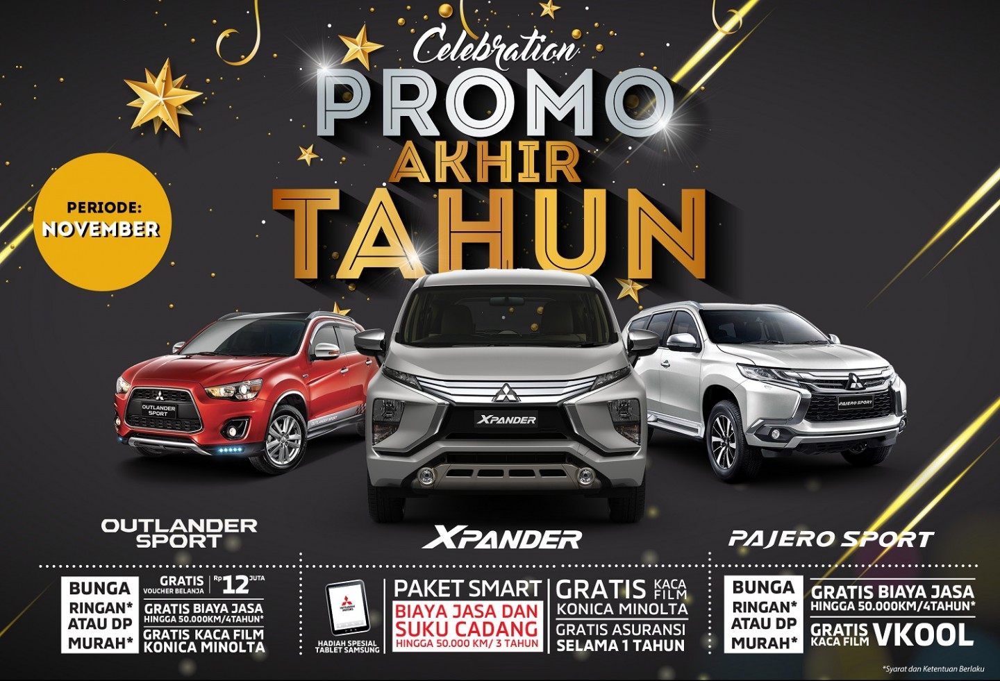 Program Penjualan Mitsubishi Motors November 2018