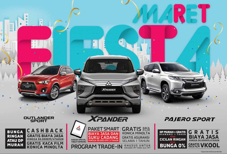 Program Penjualan Mitsubishi Motors Maret 2019