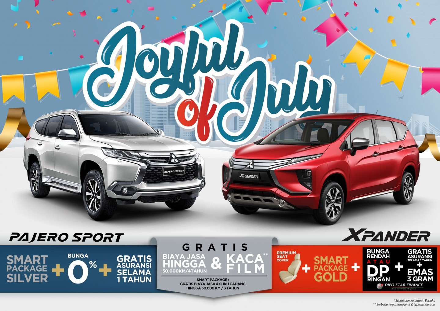 Program Penjualan Mitsubishi Motors Juli 2019