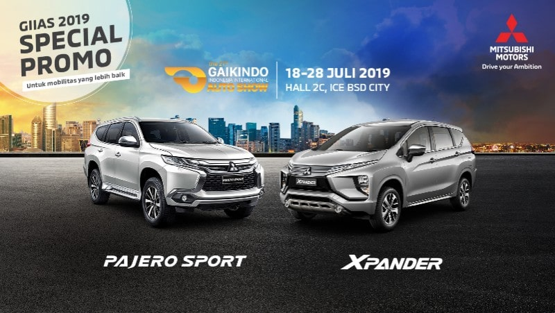 Program Penjualan Mitsubishi Motors di GIIAS 2019