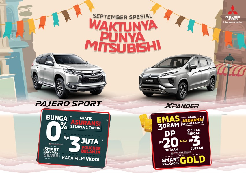 Program Penjualan Mitsubishi Motors September 2019