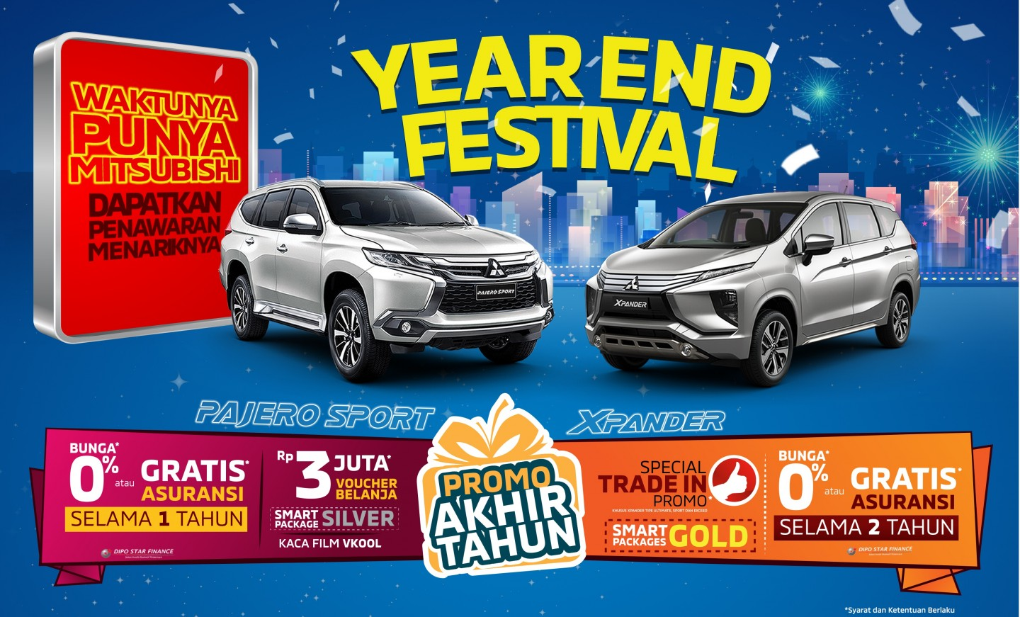 Program Penjualan Mitsubishi Motors Oktober 2019