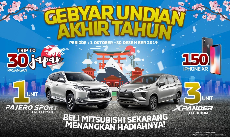 Mekanisme Gebyar Undian Akhir Tahun Mitsubishi Motors Indonesia