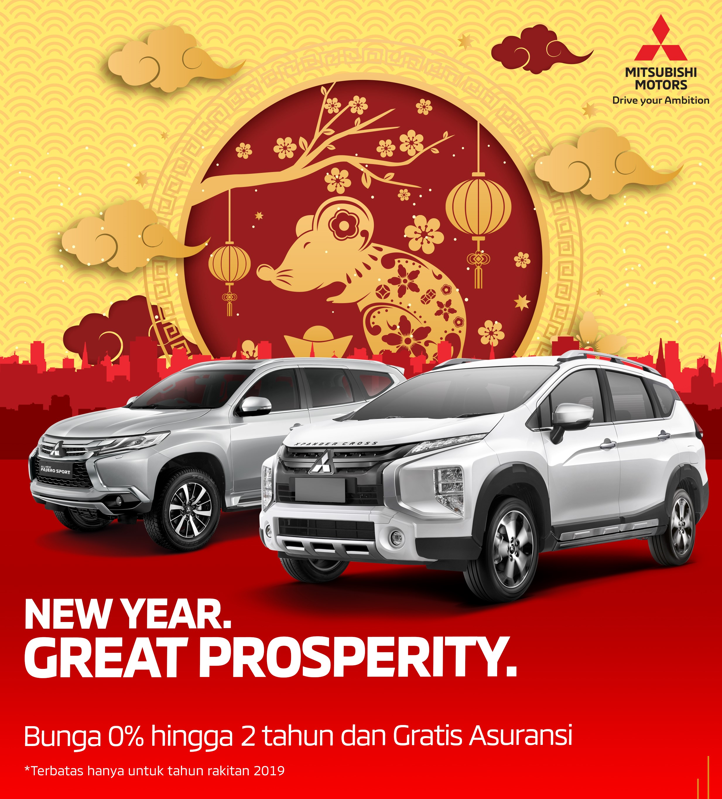 Program Penjualan Mitsubishi Motors Januari 2020