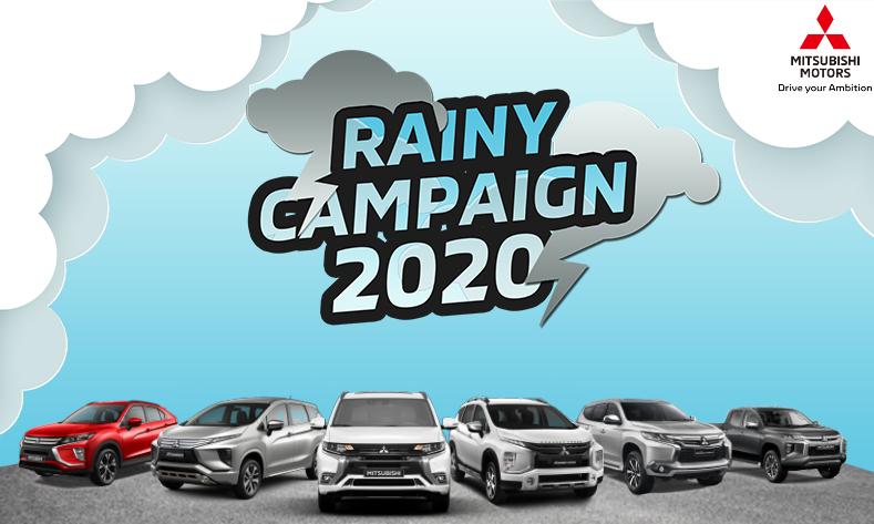 Pastikan Kendaraan Tetap Prima pada Musim Hujan, Melalui Mitsubishi Rainy Campaign 2020