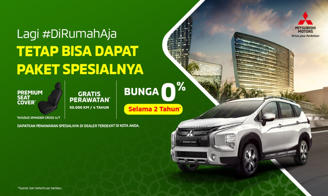 Program Penjualan Mitsubishi Motors April 2020