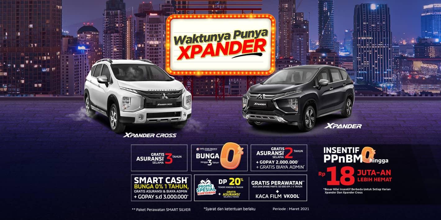 Program Penjualan Mitsubishi Motors Maret 2021