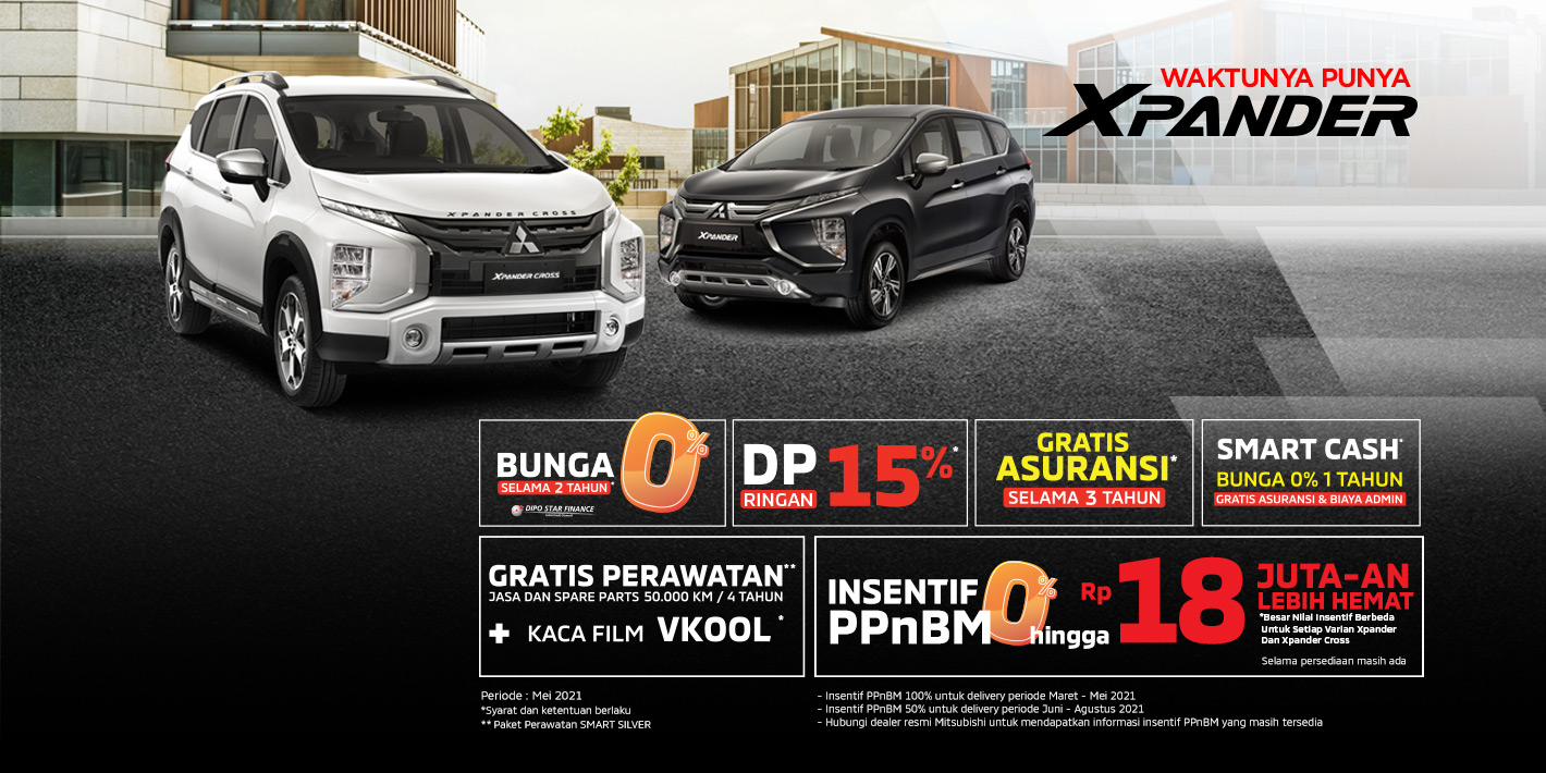 Program Penjualan Mitsubishi Motors Mei 2021