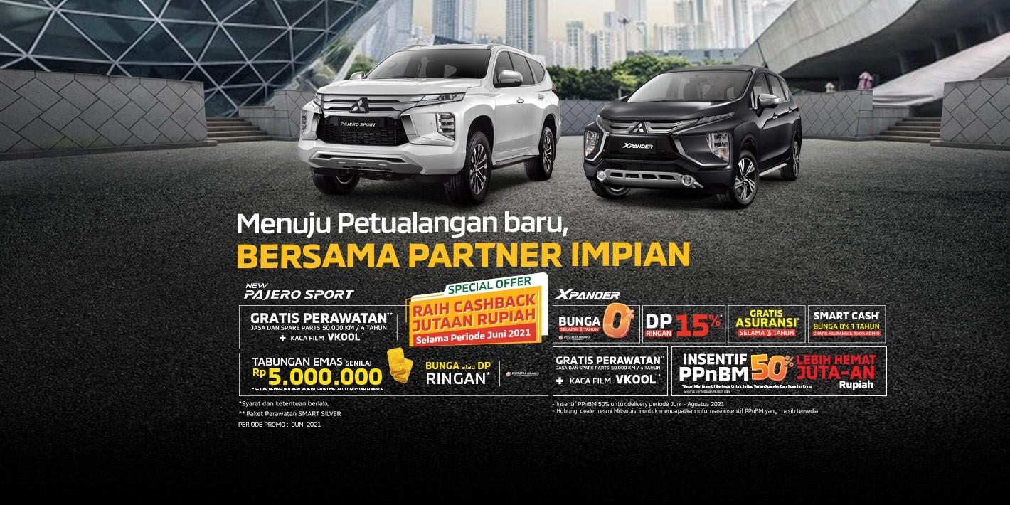 Program Penjualan Mitsubishi Motors Juni 2021